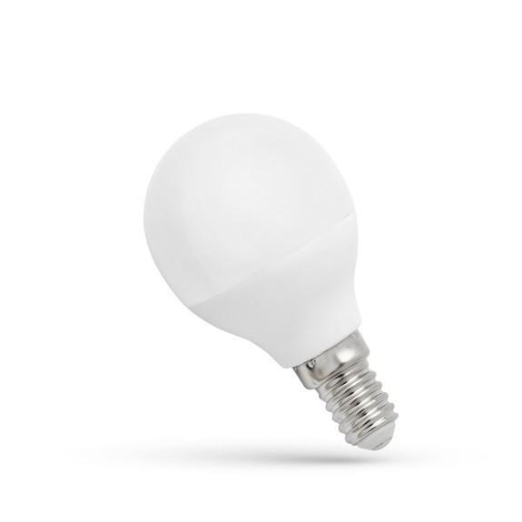 Spectrum LED gömb 6W E14 (~40W) 480lm 3000K