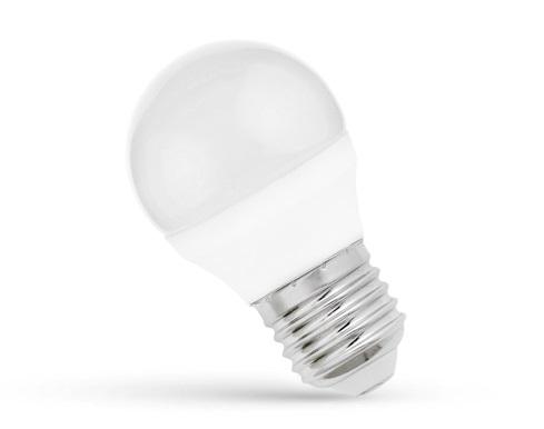Spectrum LED gömb 6W E27 (~40W) 480lm 3000K